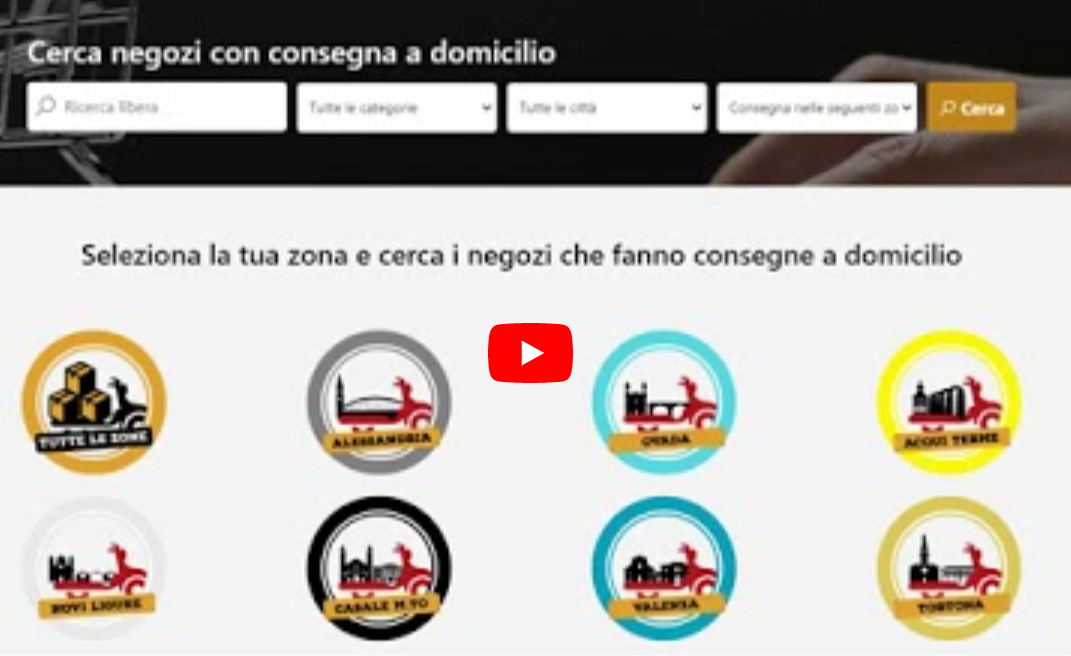 Video tutorial registrazione al portale per gli esercenti